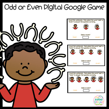 Odd or Even Digital Google Game