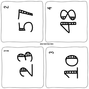 Odd or Even Number Cards: Around the Room Scoot