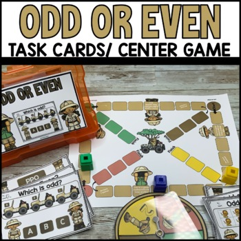 Odd or Even Numbers Task Cards
