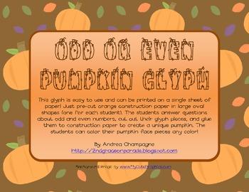Odd or Even Pumpkin Glyph