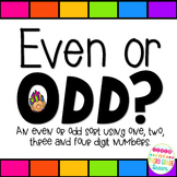 Even or Odd Sort