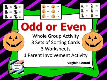 Odd or Even -- Halloween Theme