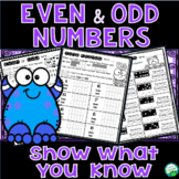 Odd or Even Worksheets - Show What You Know!
