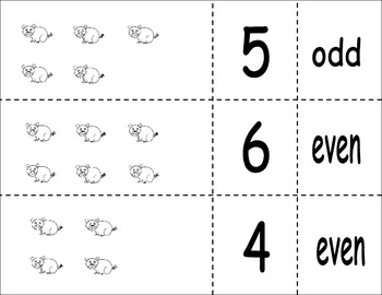 Odd or Even number Matching Game