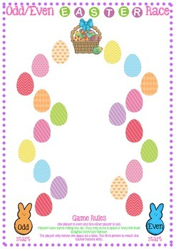 Odd/Even Easter Race