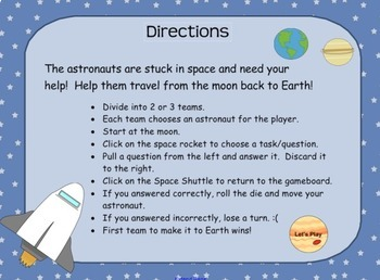 (Odd/Even & Skip Counting) Out of this World SMARTboard Game