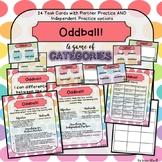 Comprehension Game Categorizing Task Cards