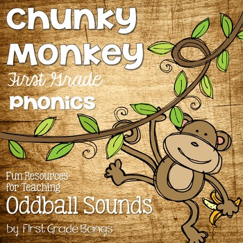 Oddball Sounds- Phonics Unit, Word Work and Literacy Center Activities