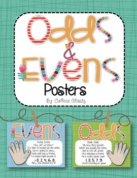 Odds & Evens Poem Posters