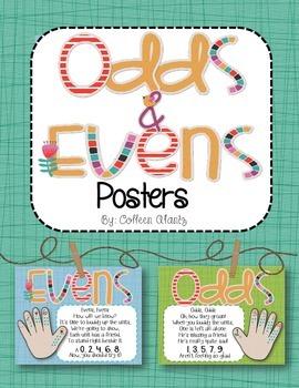 Odds & Evens Poem Posters