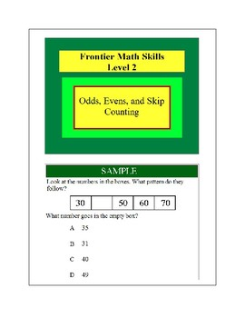 Odds, Evens, and Skip Counting