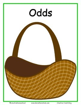 Odds and Evens Apple Sort Activity