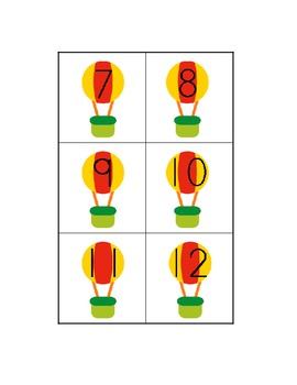 Odds and Evens File Folder Game - Sorting Numbers
