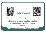 Odds and Evens PowerPoint