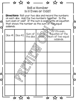 Odds and Evens Worksheet Pack