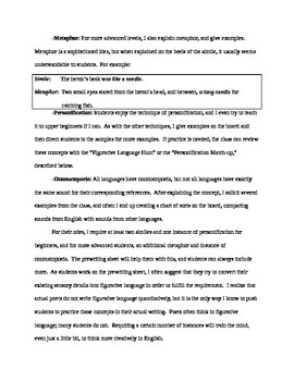 Ode Bundle in Word--Great for Writing Workshop or Alone, and for ELLs