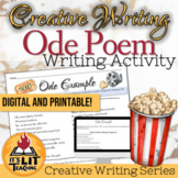 Ode Poems for High School Creative Writing