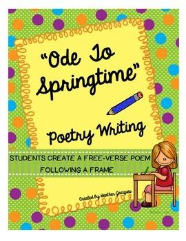 """Ode To Springtime""  Poetry Writing"