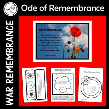 Anzac Day - Ode of Remembrance – Classroom Activities