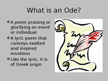 Ode on Melancholy PowerPoint