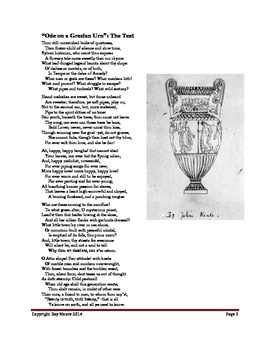"""""""Ode on a Grecian Urn"""" by John Keats: How to Study the Poem"""
