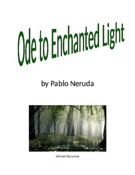 Ode to Enchanted Light