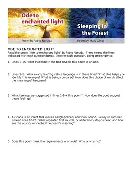 Ode to Enchanted Light Comprehensive Study Guide