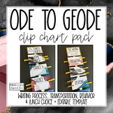 Ode to Geode Clip Chart Pack {Editable}