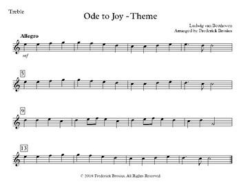 Ode to Joy - Classroom Bundle with Audio