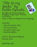 """""""Ode to My Socks"""" by Pablo Neruda Analytical Writing Lesson"""