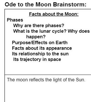 Ode to the Moon