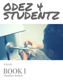 Odez 4 Students - Strings Book 1 - Cello
