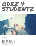 Odez 4 Students - Strings Book 1 - Viola