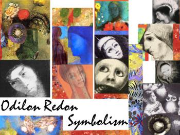 Odilon Redon Art History Symbolism FREE POSTER