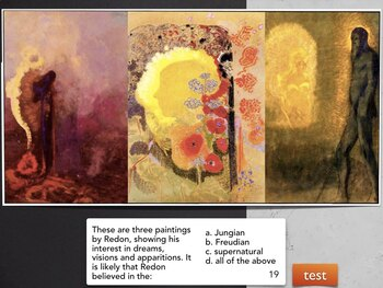 REDON Odilon Redon - Symbolism Lithograph Pastel Oil Paint Draw Art