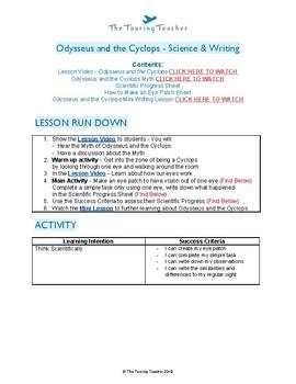 Greek Mythology: Odysseus & The Cyclops - Science Lesson