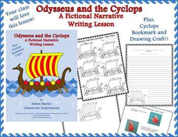Odysseus and the Cyclops - A Fictional Narrative Writing Lesson