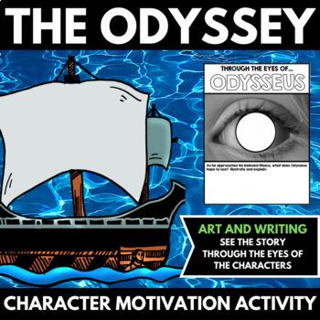 The Odyssey Novel Study Unit Character Motivation Activities