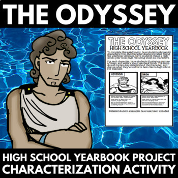 The Odyssey Novel Study Unit Character Analysis