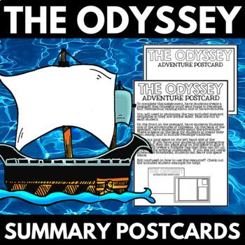 The Odyssey Novel Study Unit Summary Project