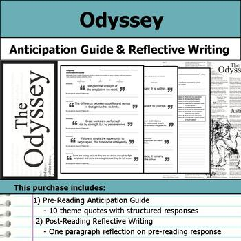 Odyssey - Anticipation Guide & Reflection
