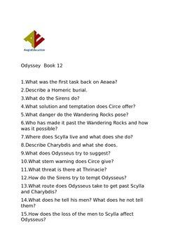 Odyssey Book 12