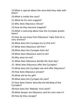 Odyssey Book 9