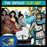 Odyssey Clip-Art 24 pc. BW and Color! Part 1 of 3!