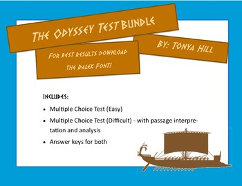 Odyssey Cumulative Tests