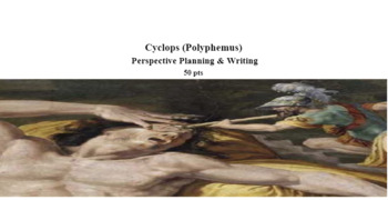 Odyssey: Cyclops Perspective Writing