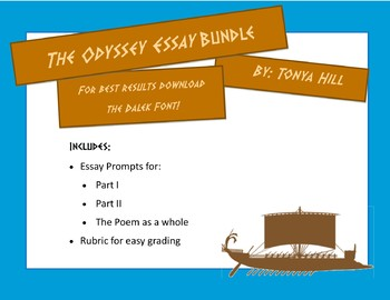 Odyssey Essay Promtpts and Rubric