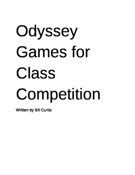 Odyssey Games for Class Competition