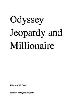 Odyssey Jeopardy and Millionaire