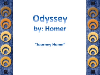 Odyssey Journey Home Powerpoint